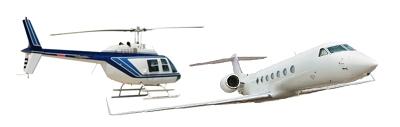 Jatos Executivos e Helicópteros - Central de Fretes